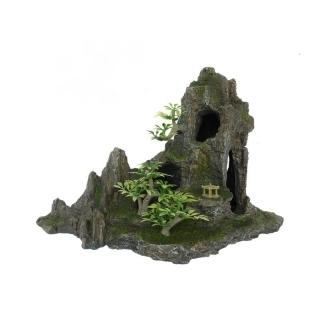 """Грот """"Скала с пещерой и деревьями"""" Trixie"""