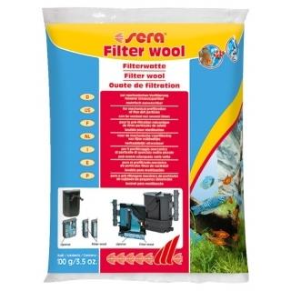 Sera filter wool 100 гр, Фильтрующая вата