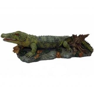 """Грот для аквариума """"Крокодил"""" (распылитель воздуха)"""
