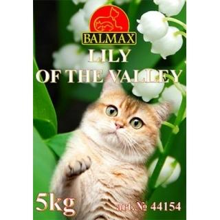 Наполнитель для кошачьего туалета Balmax, Ландыш, 5 кг, комкующийся