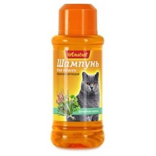 """Шампунь """"Amstrel"""" для кошек кондиционирующий с целебными травами, 320 мл"""