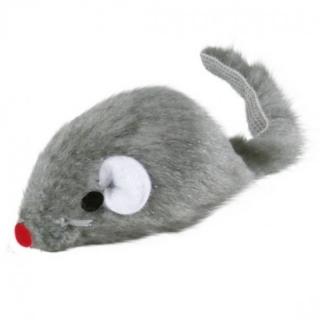 """Игрушка """"TRIXIE"""" для кошки в виде пушистой мыши с колокольчиком, 5см"""