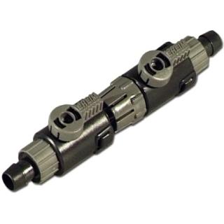Двойной быстроразъёмный кран, D=25x34 мм