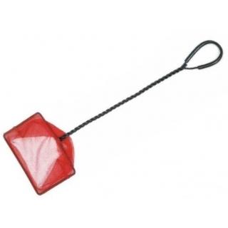 Аквариумный сачок с удлиннёной ручкой, 15*12,5*45 см