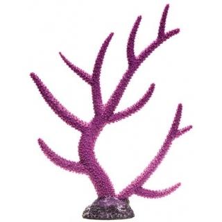 Пластиковый коралл фиолетовый 26x6,4x33,5 см
