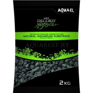Aquael substrate, Базальтовый гравий 2 кг, 2-4 мм