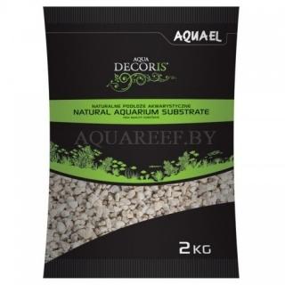 Aquael substrate, Доломитовый гравий 2кг, 2-4 мм