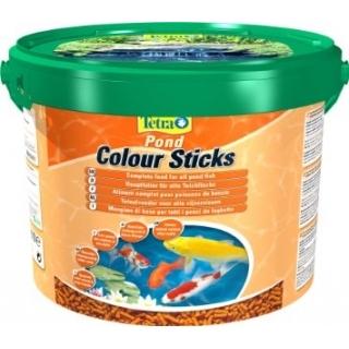 Tetra Pond Colour Sticks 10л - корм для прудовых рыб