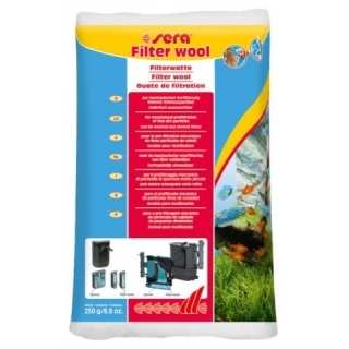 Sera filter wool 250гр, Фильтрующая вата