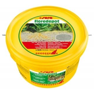 Sera floredepot 4,7 кг Питательный грунт для аквариумных растений
