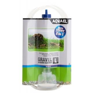 Сифон для очистки грунта Aquael Gravel & Glass Cleaner L (33см)
