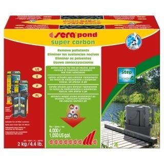 Sera pond super carbon - активированный уголь, 2 кг.
