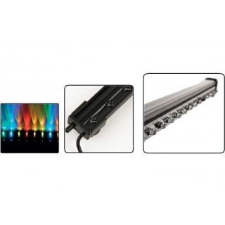 Светодиодная подводная подсветка с распылителем воздуха LED 004, 90 см