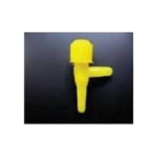 Краник для трубки Ф-4мм