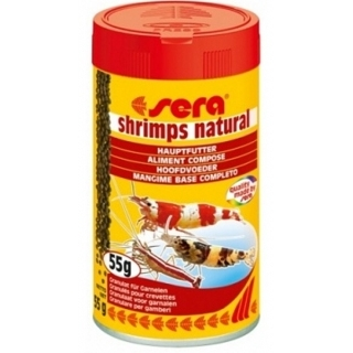 Sera shrimps natural, 100 мл.