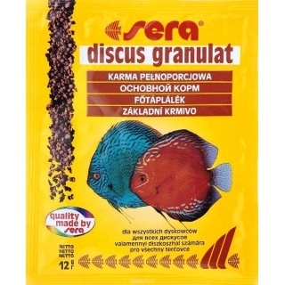 Sera discus granulat, 12 гр