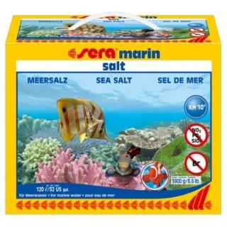 Морская соль для аквариума Sera Marin Salt 3900 гр