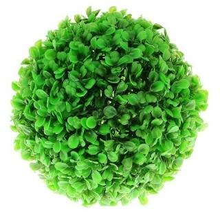Растение ШАР, зелёное идеальное укрытие для мальков, ф18 см