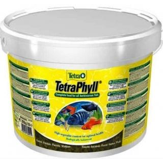 TetraPhyll 10 литров - корм в виде хлопьев