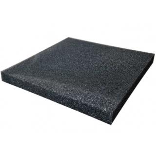 Губка для фильтра среднепористая, плотность 20PPI, 45x45x4,5 см