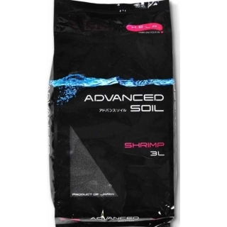 Aquael ADVANCED SOIL SHRIMP POWDER, грунт для креветочников, 3 литра