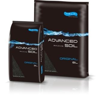 Aquael ADVANCED SOIL ORIGINAL - грунт для аквариума, 8 литров