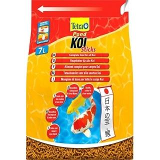 Tetra Pond Koi Sticks 7 литров - корм для прудовых рыб