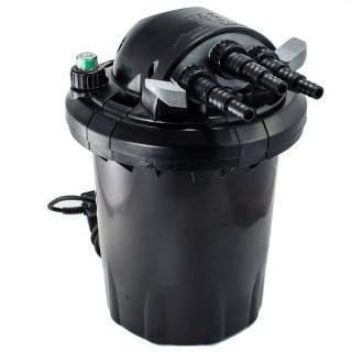 JEBAO CF-10, Прудовый напорный фильтр с УФ-лампой 7 Вт, с обратной промывкой