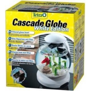 Tetra Cascade Globe Glas - Аквариум с фильтром и водопадом 6,8л белый