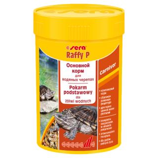 Sera Raffy P 100 мл, корм для водяных черепах