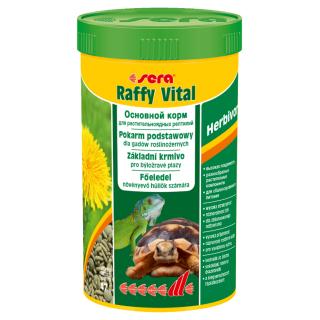 Sera Raffy Vital 250 мл, корм для для растительноядных рептилий