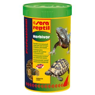 Sera reptil Professional Herbivor 250 мл, корм для растительноядных рептилий