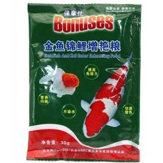 Bonuses Goldfish And Koi Color , корм для рыб 30 гр