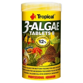 Tropical 3-Algae Tablets B 50 мл