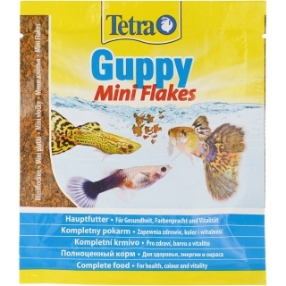Tetra Guppy Mini Flakes 12 гр