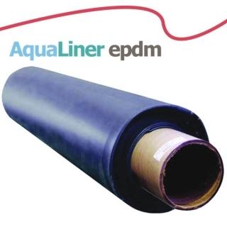 Пленка для пруда Бутилкаучуковая AquaLiner 0.8mm, ширина 6м, цена за м.кв.