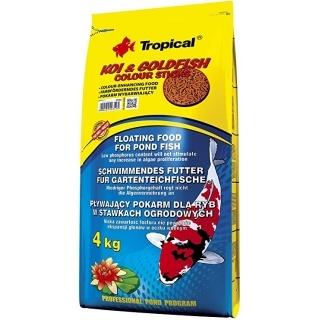 Tropical Koi & Goldfish Colour Sticks 50 литров - корм для прудовых рыб